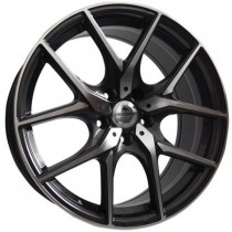 "Forzza Vision 17"" black polished"
