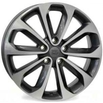 WSP Italy Vulter W1855 17x6,5 anthracite polished