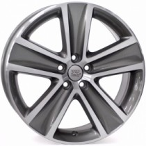 WSP Italy Cross Polo W463 16x7 anthracite polished