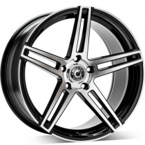 Carbonado WF-1 18x8 black polished