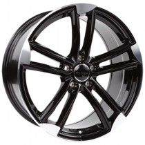 WheelWorld WH27 19x8,5 Black Polished
