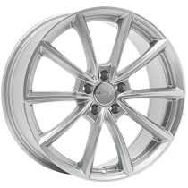 WheelWorld WH28 20x8 Race Silver