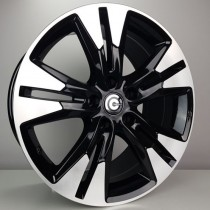 Carbonado Witch 18x8 5x114,3 ET40 73,1 black polished