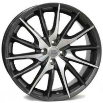 WSP Italy Lucca 17x7 4x98 ET39 58,1 anthracite polished