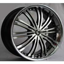 Racing Line RLXF261 black polished 20x8,5 5x114,3 ET42