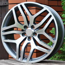 R Line LXF419 anthracite polished 22x9,5 5x108 ET45 63,3