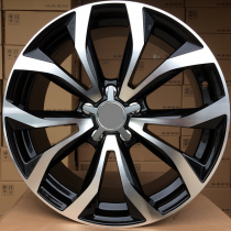 R Line AXF562 black polished 20x8 5x112 ET35 66,45