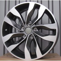 R Line KIXF977 grey polished 18x7,5 5x114,3 ET46 67,1