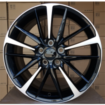 R Line XFE130 black polished 18x7.5 5x114.3 ET45 60.1