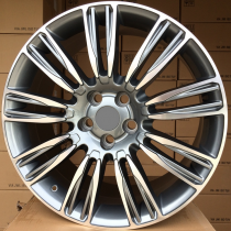 R Line LXFE136 anthracite polished 22x9,5 5x120 ET45 72,6