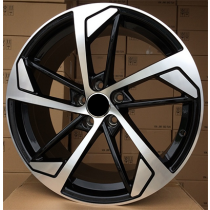 R Line XFE139 black polished 21x9 5x112 ET30 66.45