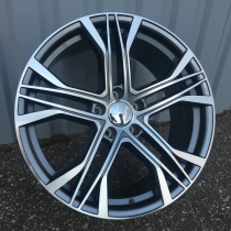 R Line AXFE226 anthracite polished 20x9 5x112 ET32 66,45