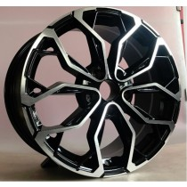 R Line RXFE260 black polished 17x7 5x114,3 ET43 66,1