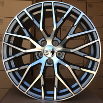 R Line AXFE30 anthracite polished 5x112 ET35 66,45