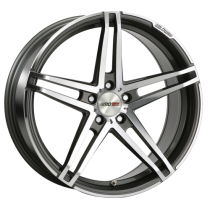 Motec Xtreme 19x8,5 Dark Grey polish