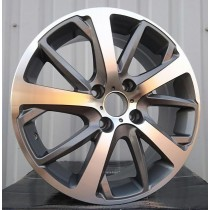 R Line PEZE1039 grey polished 16x6,5 4x108 ET30 65,1