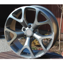R Line OZE236 grey polished 17x7,5 5x120