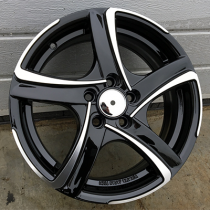 R Line ZE257 black polished 15x7 15x6 4x114.3 ET35 73.1