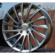 R Line ARZE467 grey polished 16x7 5x98 ET35 58,1