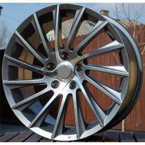 R Line ZE467 anthracite polished 17x7.5 5x110 ET30 65.1