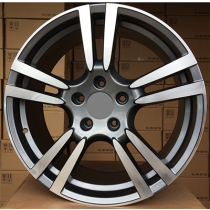 R Line ZE946 anthracite polished 21x10 5x130 ET50 71.6