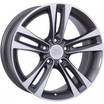 WSP Italy Zeus 18x8 5x120 ET34 72,6 anthracite polished
