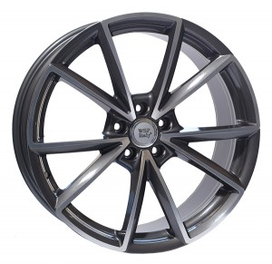WSP Italy Aiace 19x8,5 anthracite polished