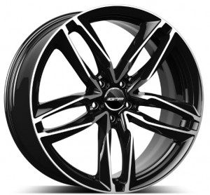 GMP Atom black diamond 17x7,5 5x112