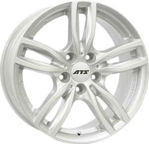 ATS Evolution 18x8 silver