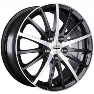 CMS C16 15x6,5 Diamond Matt Black