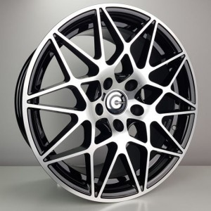 Carbonado Crazy 19x9,5 5x120 ET40 72,6 black polished