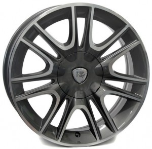 WSP Italy Fabro 16x6,5 anthracite polished