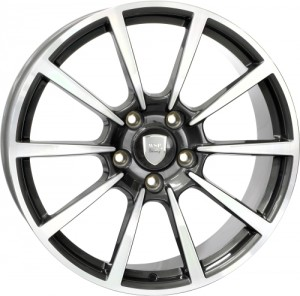 WSP Italy Legend 20x11 5x130 ET70 71,6 anthracite polished