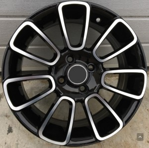 R Line FR538 black polished 15x6,5 4x100 ET39 56,6