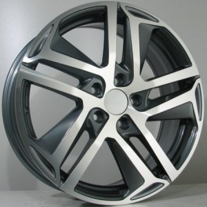 4Racing P05 17x6,5 antracite polished