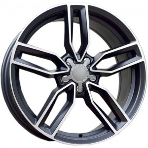 Carbonado Premium 18x8 5x112 ET40 66,45 black polished
