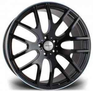 Riviera RV117 22x10 Matt Black - Lip Polished