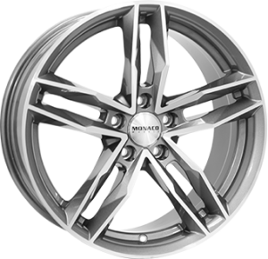 Monaco RR8M 18x8 anthracite polished