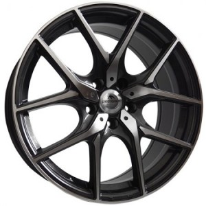 Forzza Vision 18x8 5x112 ET42 66,45 black polished