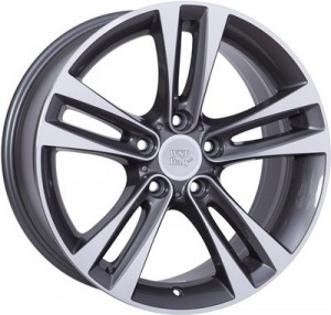 WSP Italy Zeus 18x8,5 anthracite polished