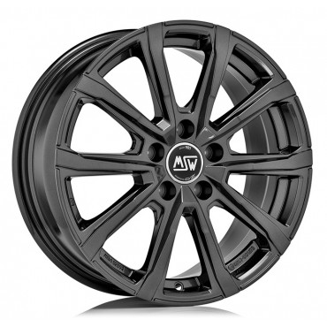 MSW 79 18x7,5 5x112 ET44 66,6 gloss dark grey