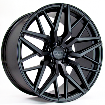 Haxer Wheels HX035 20x10 black half matt