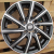 R Line LU1149 black polished 15x4,5 4x100 ET45 67,1