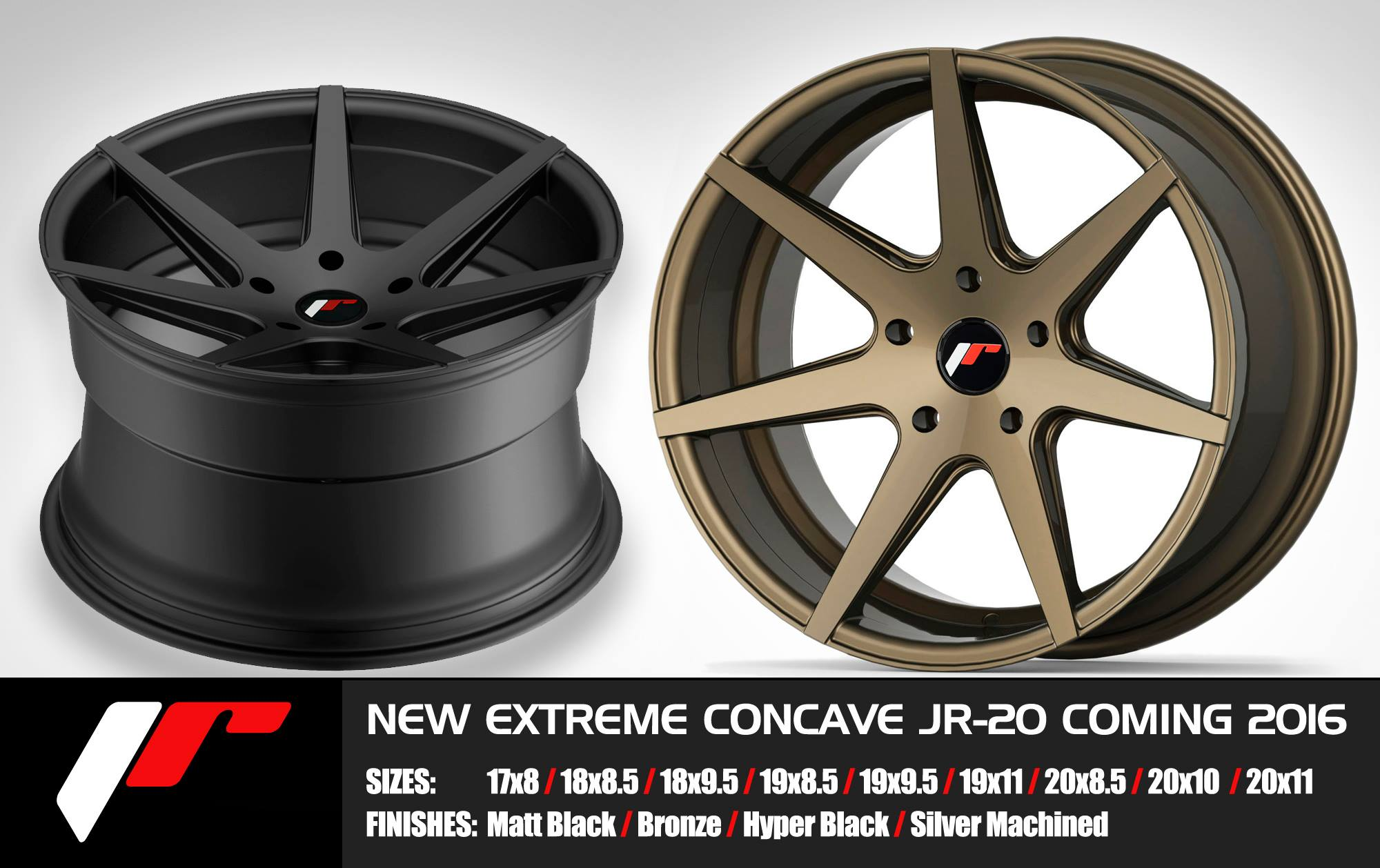 Japan racing concave jr20